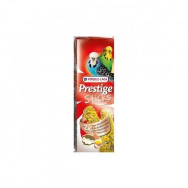 Sticks Periquitos - Ovos e Casca Ostra 2x60gr