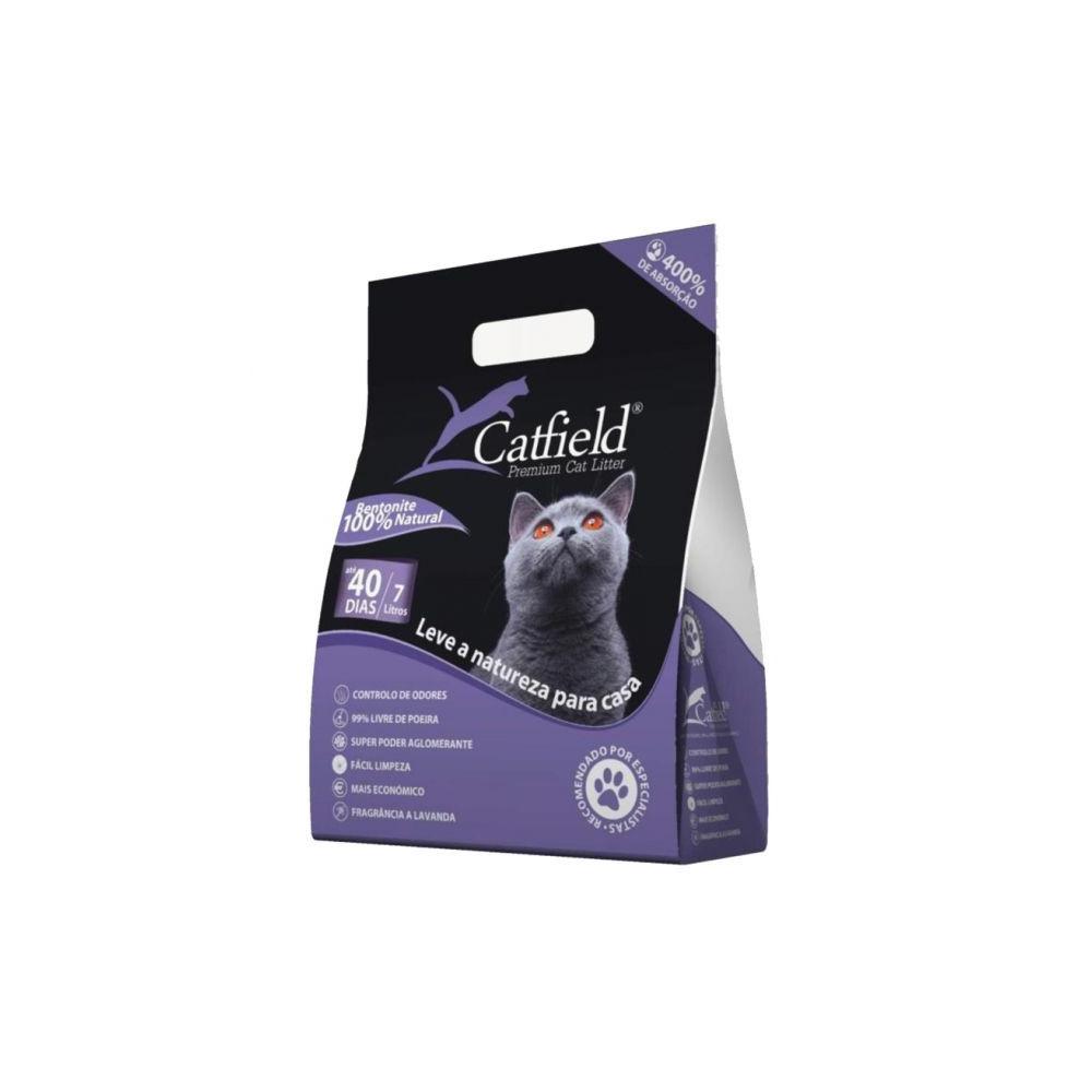 CatField Premium Litter - Lavanda 7Lt