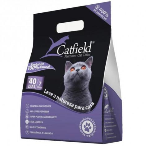 CatField Lavanda Areia para gato