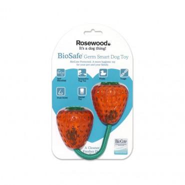 Brinquedos Rosewood Biosafe (Anti-bactérias) - Morangos