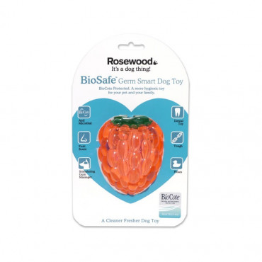 Brinquedo Rosewood Biosafe (Anti-bactérias) - Framboesa