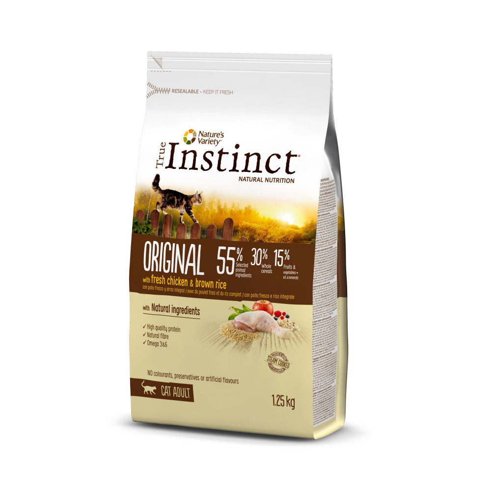 True Instinct Original Gato Adulto Chicken 300gr