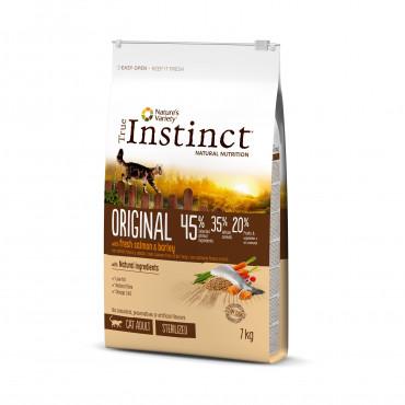 True Instinct Original Gato Adulto Esterilizado Salmão 1.25kg
