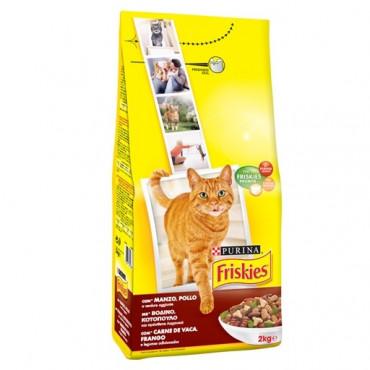 Friskies Gato Adult Frango/Legumes 20kg