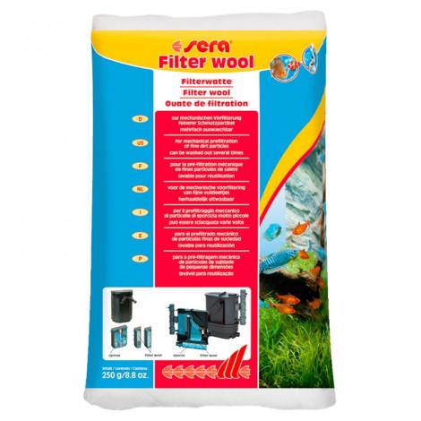 Sera - Lã Filtrante 250g