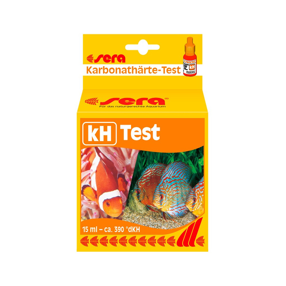 Sera - Teste de kH 15ml