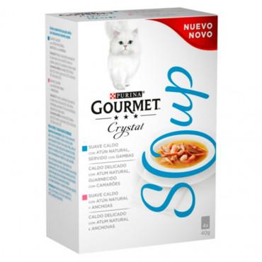 Gourmet Soup Atum Multipack 4x40gr