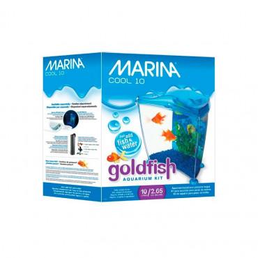 Marina - Cool Goldfish Azul 10L