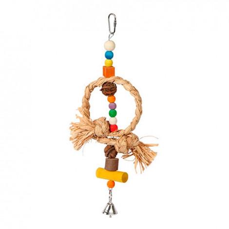 Brinquedo Natural Pássaro c/ Sino