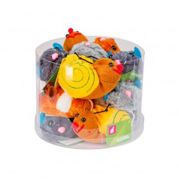Brinquedos com corda manual 7cm