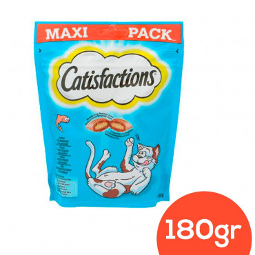 Catisfaction Snack Salmão 180gr