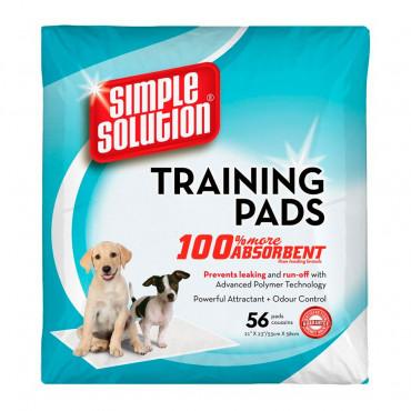 Training Pads - Fraldas p/ Cães - 56uni.