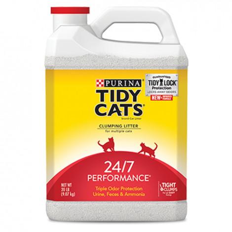 Tidy Cats Areia para gato 24/7 Performance