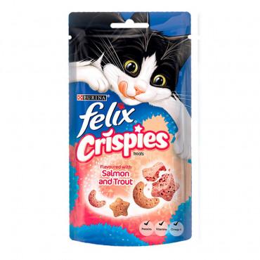 Felix Crispies - Salmão e truta