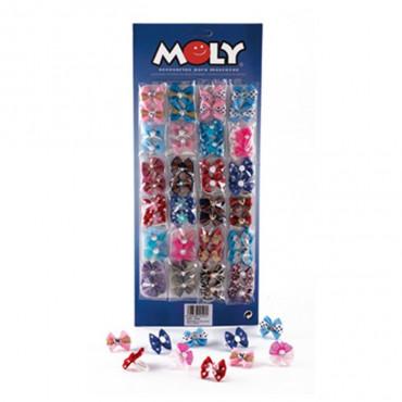 Moly - Laços Coloridos (2 unidades)