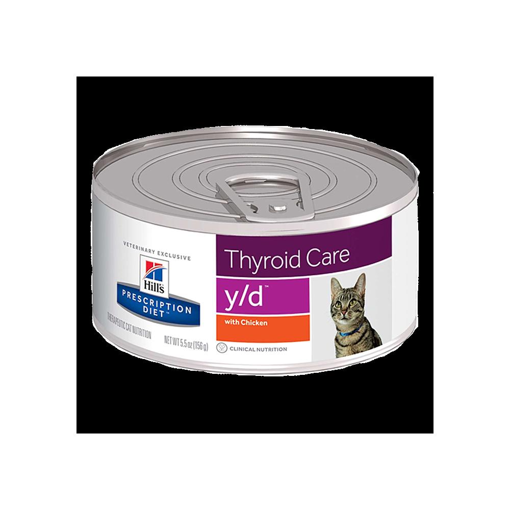 y/d Feline - Hipertiroidismo 156gr