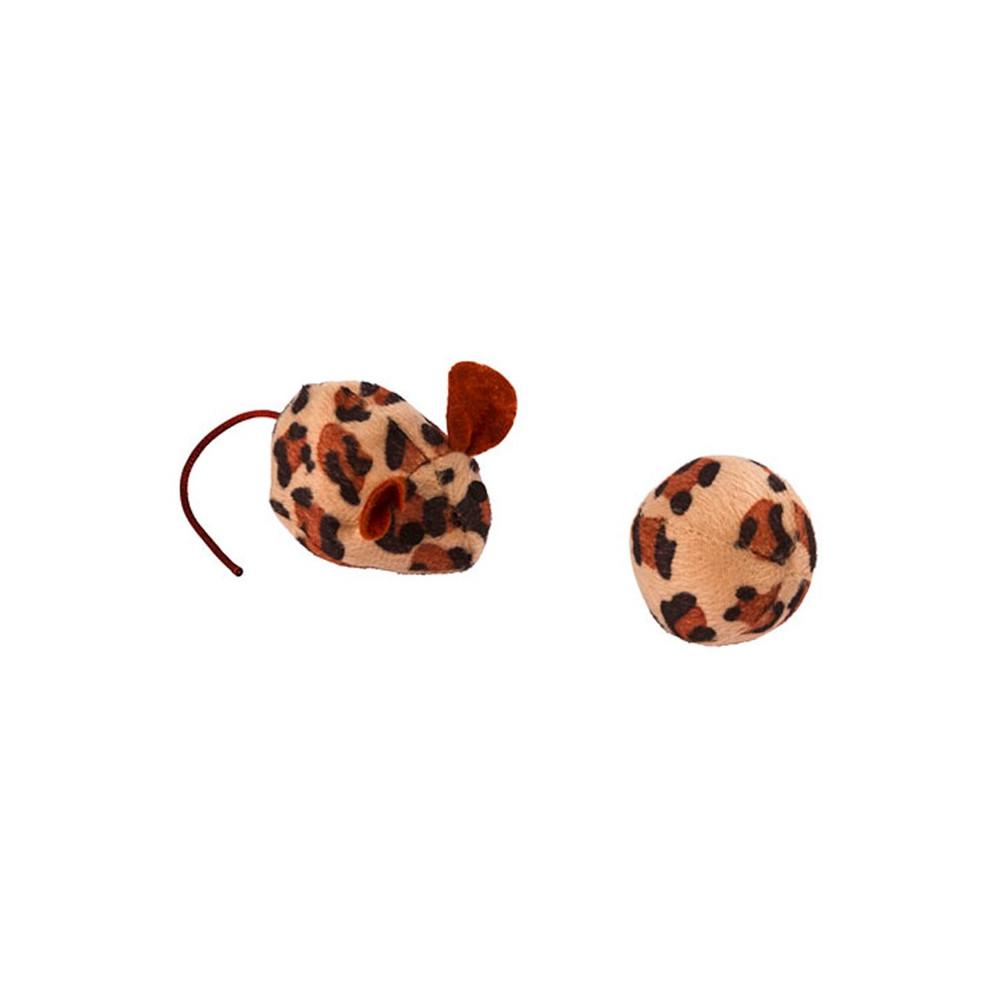 Rato e bola p/ gato