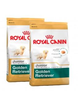 2 Sacos Royal Canin - Golden Retriever Junior 12Kg