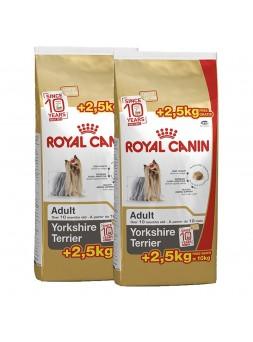 2 Sacos Royal Canin - Yorkshire Terrier 7.5Kg + 2.5Kg Oferta (Fidelização - Compre 8 Sacos + 1 Oferta)