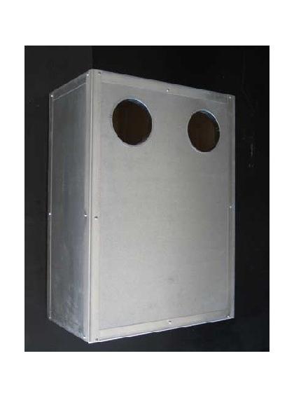 Ninho de Catatuas - 70x50x30 Cm c/Reforço chap em todo o ninho