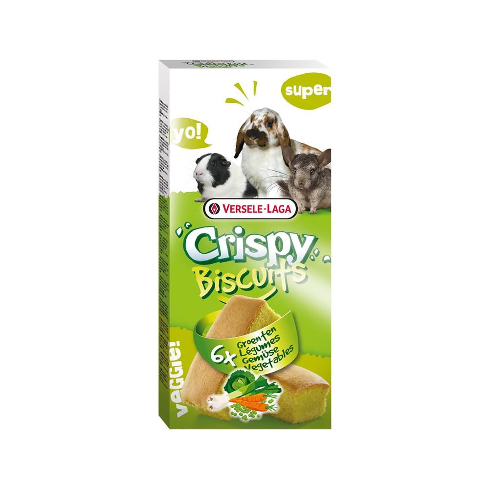 Crispy Biscuits Legumes 70gr