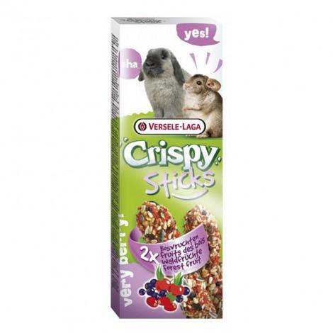 Crispy Sticks com Frutos do Bosque