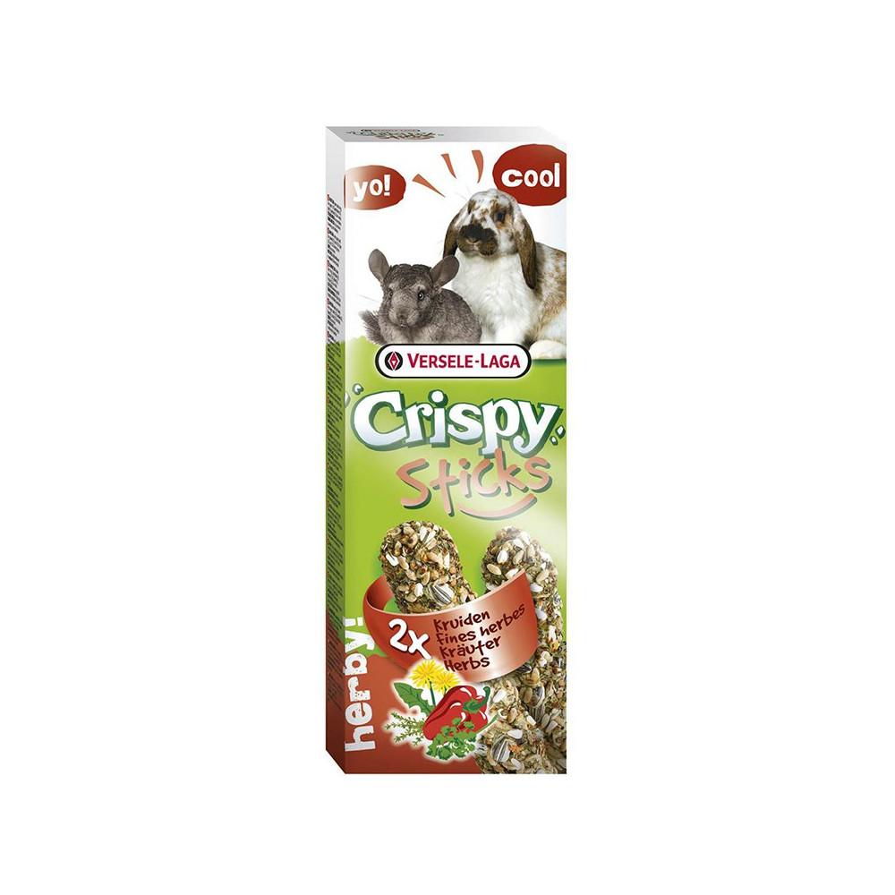 Crispy Sticks c/ Bagas Selvagens (Coelhos/Chinchilas) 2x55gr