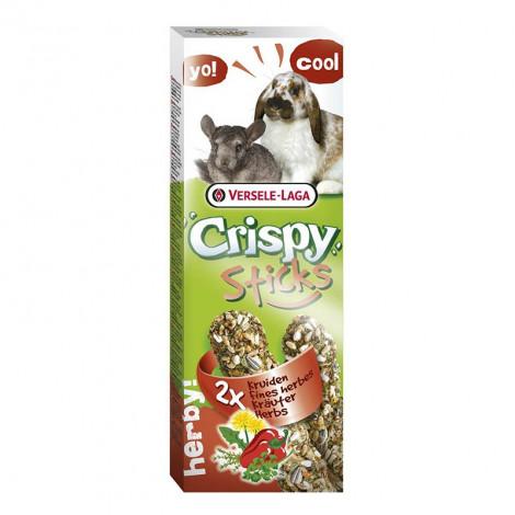 Crispy Sticks c/ Ervas Aromáticas (Coelhos/Chinchilas) 2x55gr