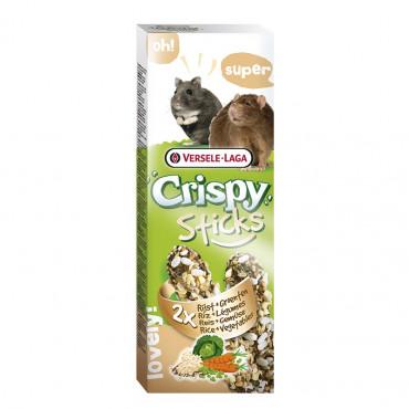 Crispy Sticks c/ Arroz e Legumes
