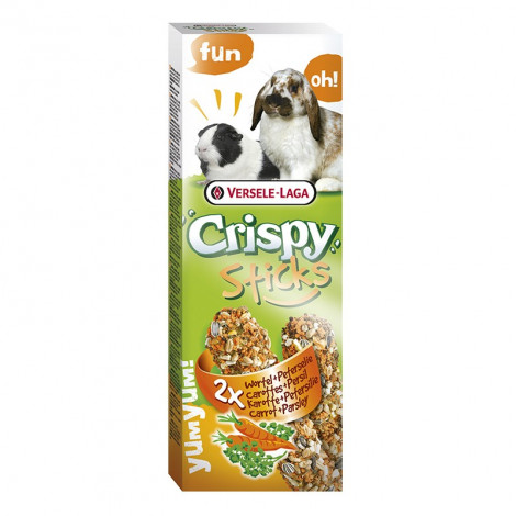 Crispy Sticks com Cenoura e Salsa