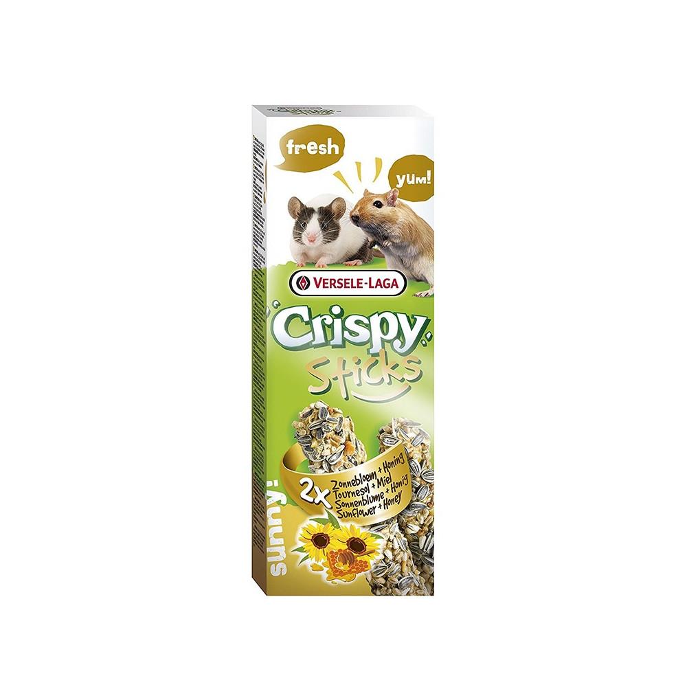 Crispy Sticks c/ Girassol e Mel 2x55gr
