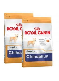 2 Sacos Royal Canin - Chihuahua Junior 1.5Kg