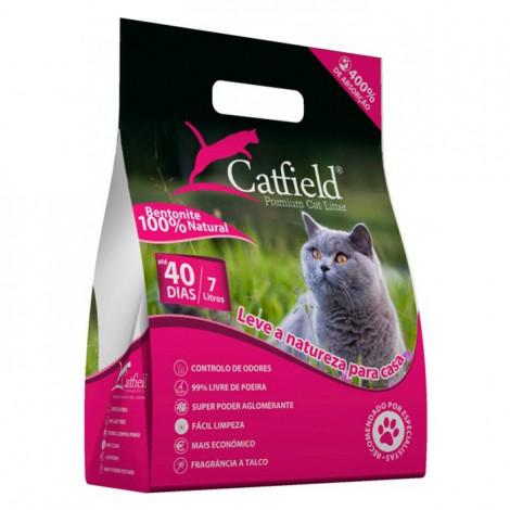 CatField Areia para gato Talco