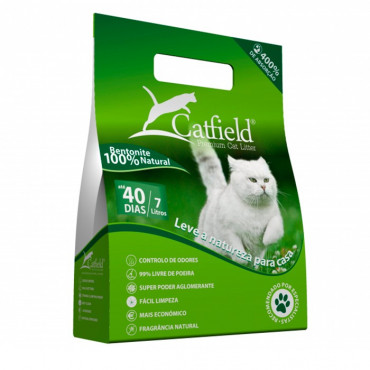 Areia CatField Natural 7 lt