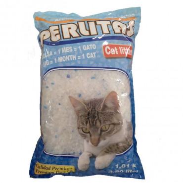 Areia Silica Perlitas - Cat Litter -  3.81kg/3.80lt
