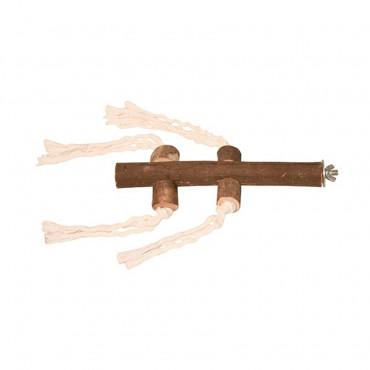 Poleiro c/ corda de Algodão - 20cm