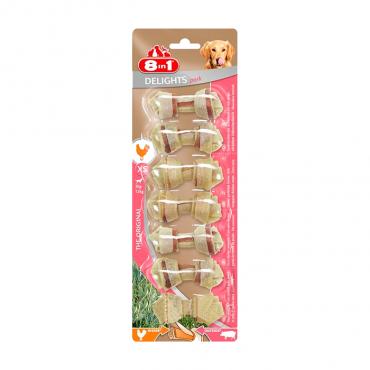 8in1 Delights Pork Bone - Osso S (1un)