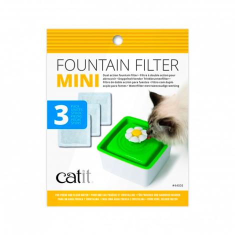 Catit- Filtro para Bebedouro Mini Flor - 3pcs