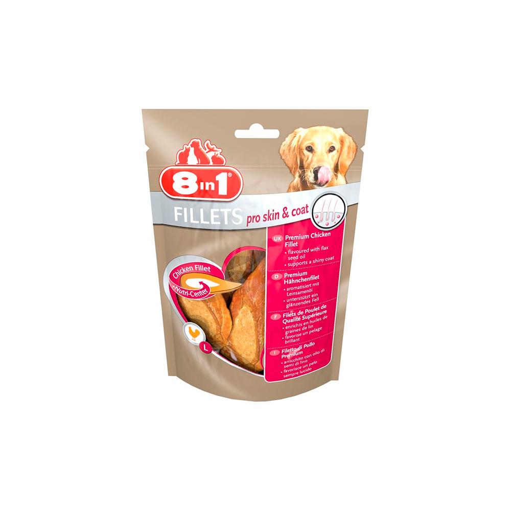 8in1 Fillets Pro Skin & Coat 80gr