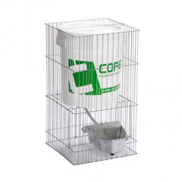 Copele - Bebedouro em Aluminio c/Depósito