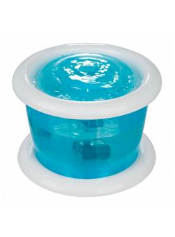 Bebedouro Automático 'Bubble Stream' 3Lt (Azul/Branco)