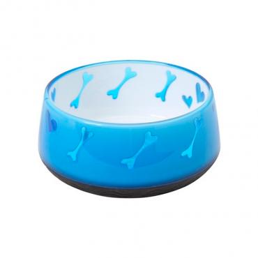 Dogit - Comedouro Ossos Azul 600ml