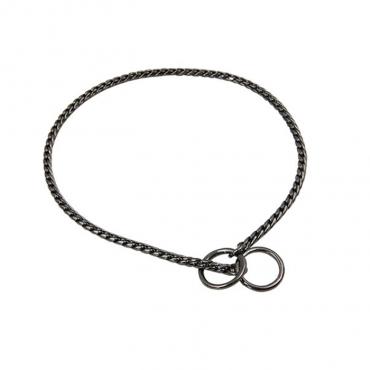 Coleira Máxima elegância 5mm - 73cm - Cinzento Cromado (IBZ)