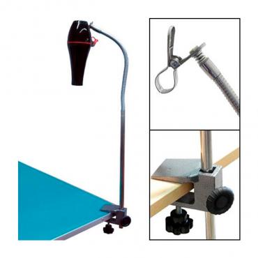 Secador de mão com suporte de braço flexo (IBZ)