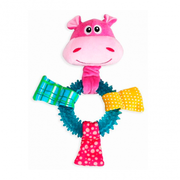 Brinquedo p/cão Pawise - Ring Hipopotamo