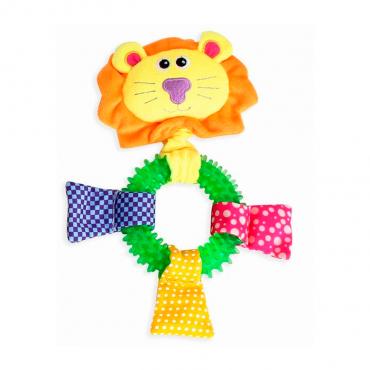 Brinquedo p/cão Pawise - Ring Leão 26cm