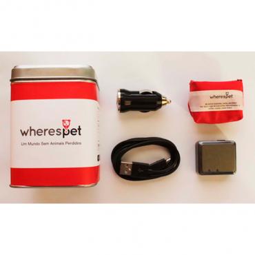 Wherespet Pinpoint - Localizador GPS p/ Cães