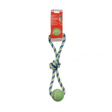 Dogit - Corda com Laço e Bola 45 Cm