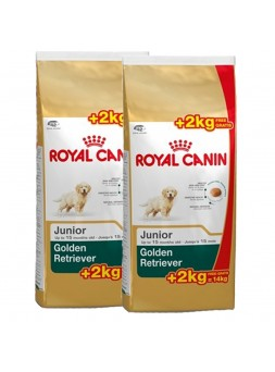 2 Sacos Royal Canin - Golden Retriever Junior 12+2Kg Oferta