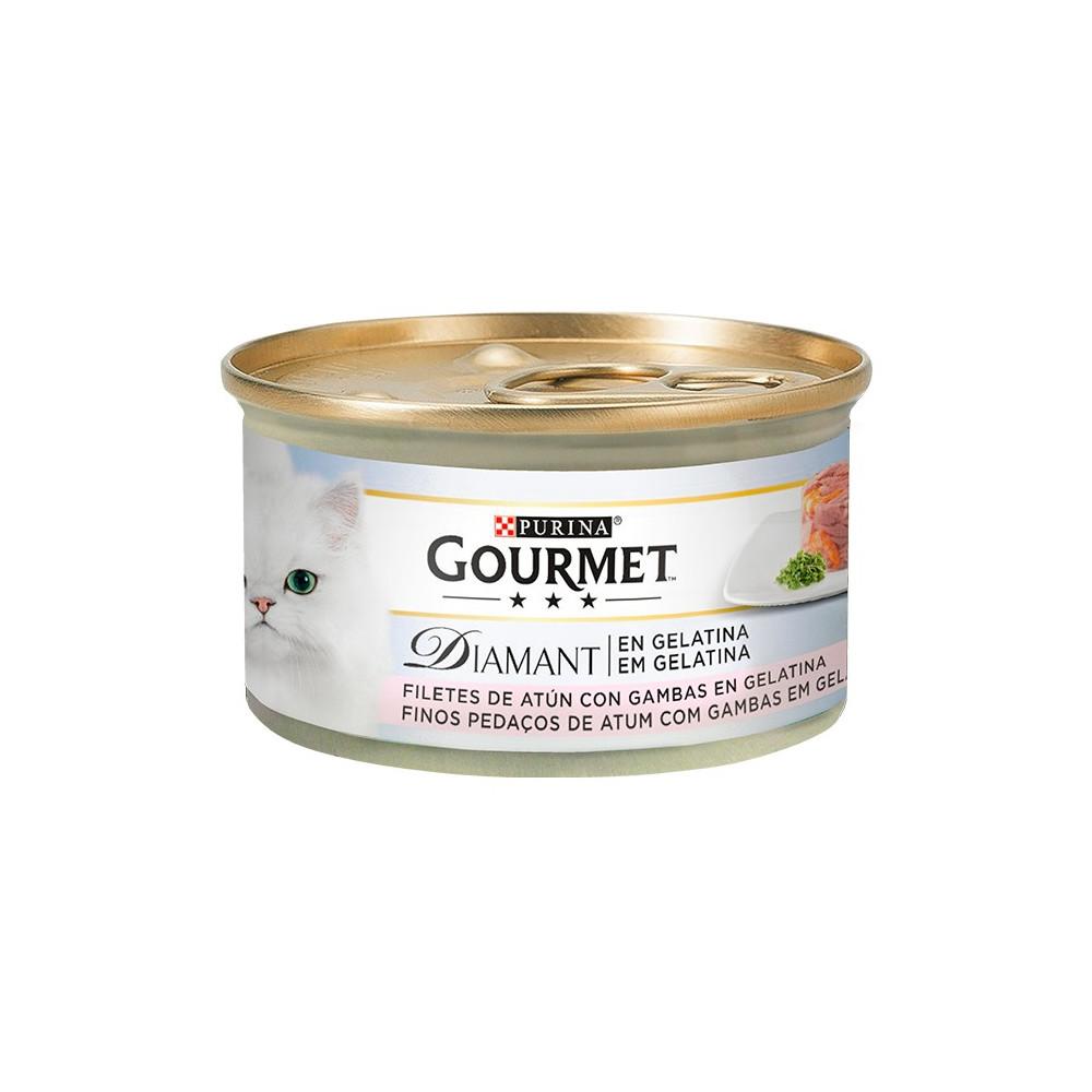 Gourmet Diamant - Atum em gelatina com Gambas 85gr